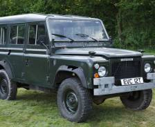 "1978 Prototype Land Rover 100"" for French and Swiss army evaluation"