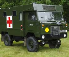 "1975 Prototype 101"" Forward Control Ambulance"
