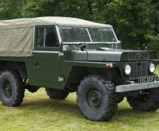 "1966 Land Rover 110"" Air-portable Gun Tractor Prototype"