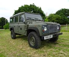 Military: 1998 Land Rover 110 Wolf Canadian trials vehicle