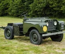 1952 Series 1 Drivable Chassis Army training aid