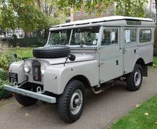 "1956 Land Rover Series 1 107"" Station Wagon"