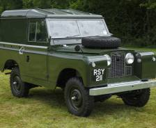 "1958 Series 11 88"" early production vehicle"
