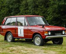 1970 Range Rover 'Velar' Hillrally winner