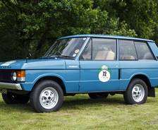 1970 Range Rover 'Velar' Press Launch vehicle