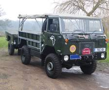 "1974 101"" Forward Control Trans-Sahara Expedition vehicle"