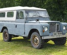 "1975 Land Rover Series 111 109"" Hard Top"