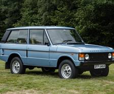 1981 Range Rover 'In Vogue' first series