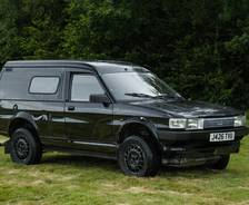 1994 Freelander test mule with Maestro van body