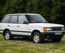 1994 P38A Range Rover Police demonstration vehicle