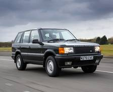 1994 second-generation P38A Range Rover press launch vehicle