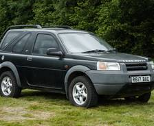 1997 Freelander 3-door Press Launch vehicle