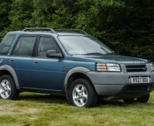 1997 Freelander 5-door early production vehicle