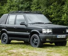 1997 second-generation P38A Range Rover camera car