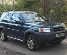 1998 Freelander 50th Anniversary Limited Edition
