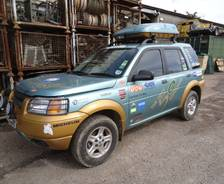 1998 Freelander 'Fifty 50 Challenge' Expedition Vehicle