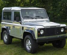 1998 Defender 90 50th Anniversary exhibition vehicle