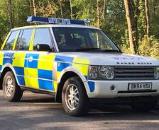 2004 Range Rover Cheshire Constabulary