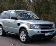 2005 Range Rover Sport Pre-production vehicle