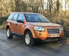 2006 Freelander 2 Pre-production vehicle