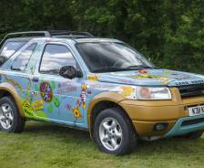 1996 Pre-production Freelander 1 and 'Fifty 50 Challenge' promotional vehicle