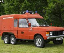1974 Range Rover 6x4 by Carmichael ex-Swiss Federal Railways