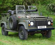 "1990 Land Rover 90""106mm Recoilless Rifle Gunship"
