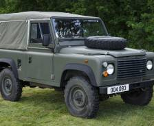 1992 Defender 90 final build under the British Army contract
