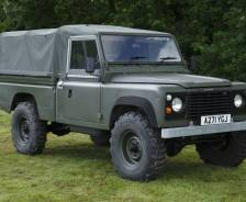 "Military: 1984 Land Rover 110"" Hi-Cap Army Evaluation Vehicle"