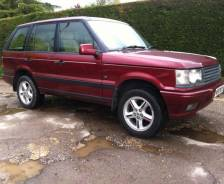 2001 second-generation P38A Range Rover 'Bordeaux' Limited Edition