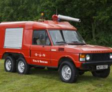 1978 Range Rover 6x4 Rapid Intervention Vehicle by Carmichael