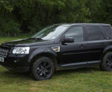 2009 Evoque development and test vehicle with Freelander 2 body
