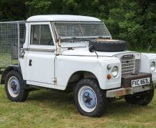 1972 Series 111 winch cable installation vehicle