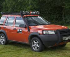 2002 Freelander G4 Challenge vehicle