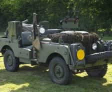 "1957 Series 1 88"" SAS vehicle"