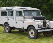 "1957 Land Rover Series 1 107"" Station Wagon"