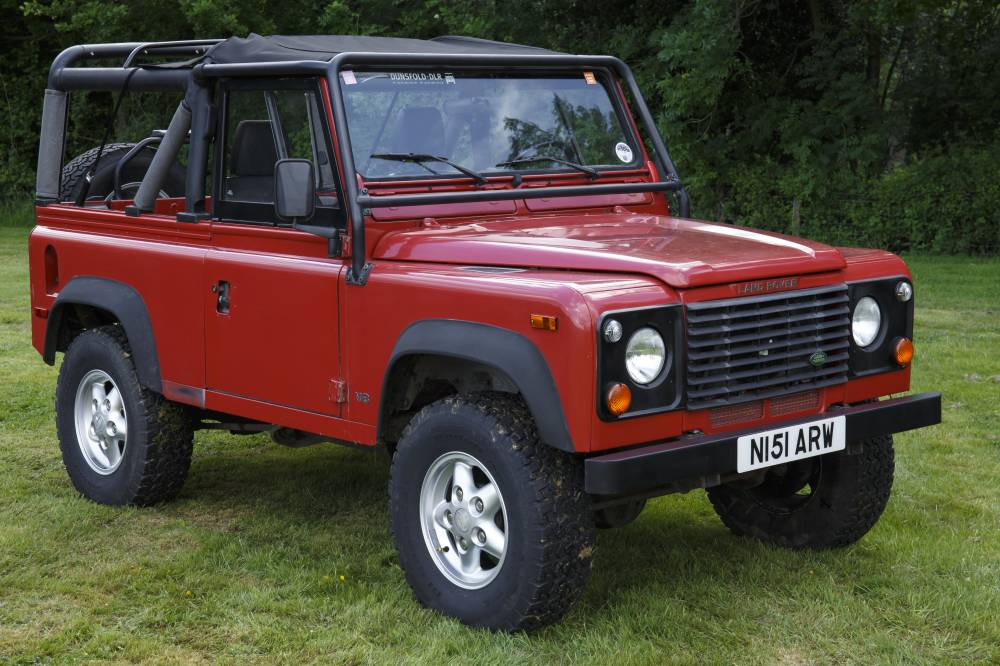 Land Rover Defender Automatic >> The Dunsfold Collection :: The Dunsfold Collection