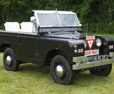 "1968 Land Rover Series 11 88"" Ceremonial and Parade vehicle"
