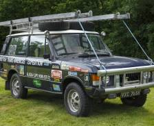 1971 Range Rover British Trans-Americas Expedition vehicle