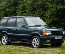 1998 second-generation P38A Range Rover '50th Anniversary' Limited Edition