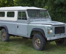 "1976 Prototype Land Rover 110"" coil-sprung"