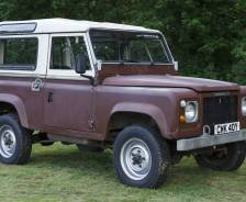 "1982 Prototype Land Rover 90"" number two"
