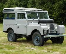 "1956 Land Rover Series 1 86"" 2.25 engine test vehicle"