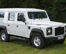 2000 Land Rover Defender 110 'Taurus' armoured car prototype
