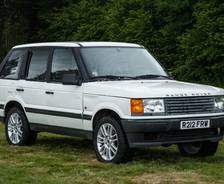 1998 second-generation P38A Range Rover Mobile Fuel Laboratory