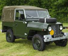 1966 Prototype Half Ton 'Lightweight' military evaluation vehicle