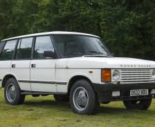 1986 Prototype NAS (North American Specification) Range Rover