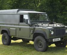 "Military: 1994 Land Rover Wolf 110"" TUM Prototype"