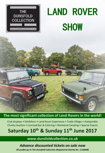 The Dunsfold Collection Land Rover Show