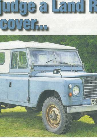 Don't judge a Land Rover by its cover...